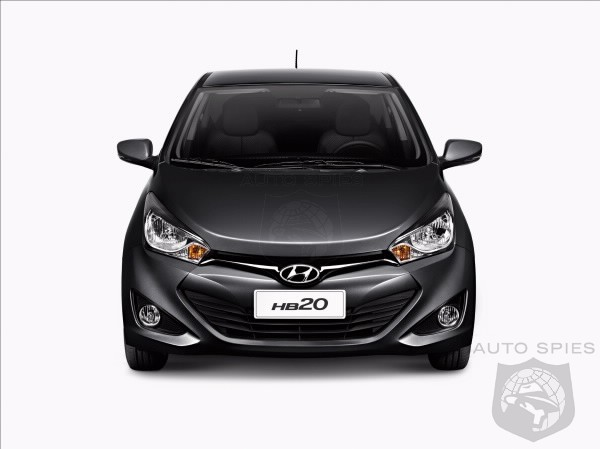 Hyundai HB20 makes its official premiere in Brazil