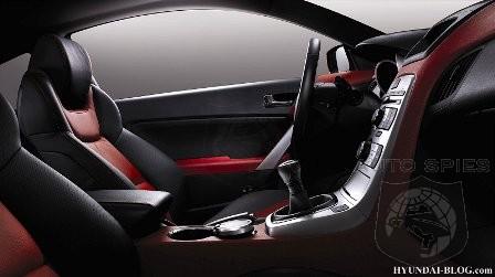 Hyundai Genesis Coupe Interior Images