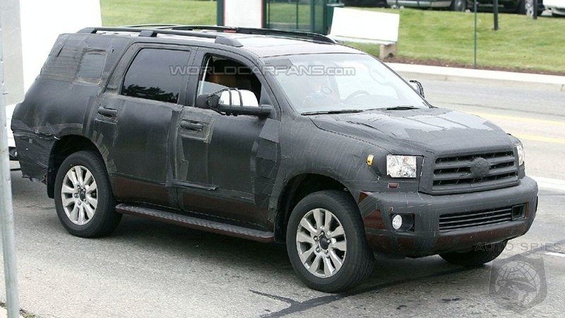 2018 Toyota Sequoia Suv Spy Shots And