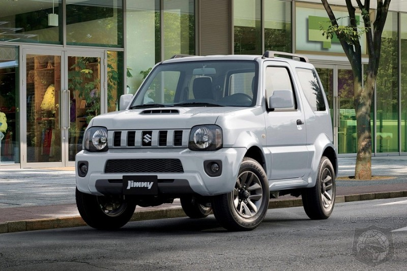 2017 suzuki jimny review autospies auto news. Black Bedroom Furniture Sets. Home Design Ideas