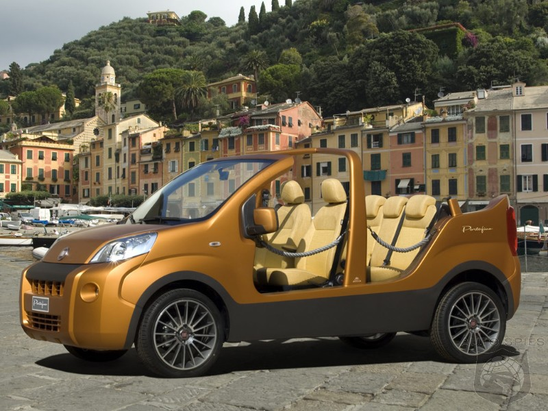 fiat portofino concept re creates 1960s beach cars. Black Bedroom Furniture Sets. Home Design Ideas