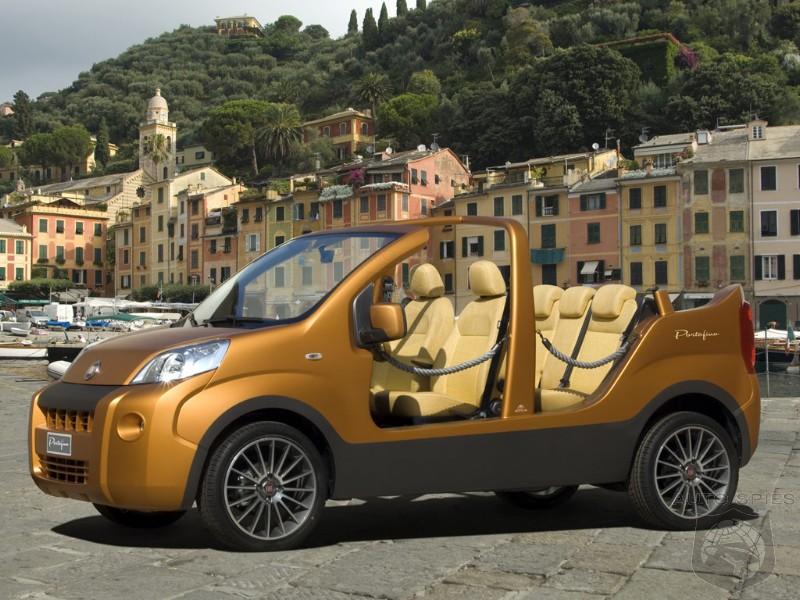 fiat portofino concept re creates 1960s beach cars. Black Bedroom Furniture Sets. Home Design Ideas
