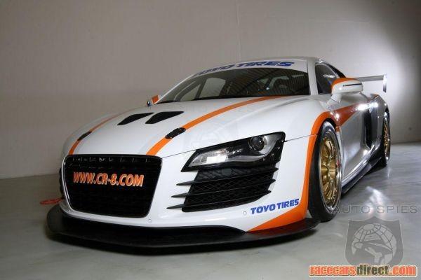Audi R GT Spec Race Car Up For Sale AutoSpies Auto News - Audi r8 race car for sale