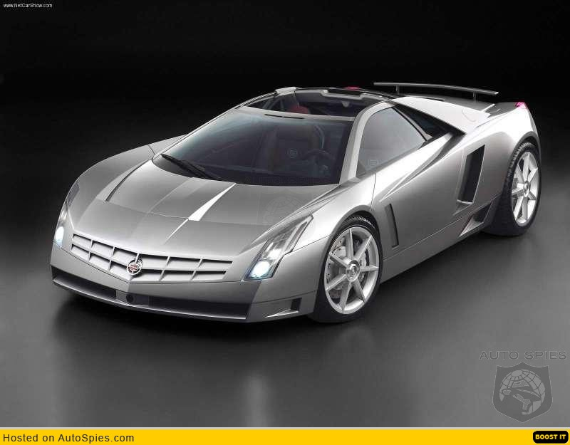 2002 Cadillac Cien Concept. Photo from:Cadillac-