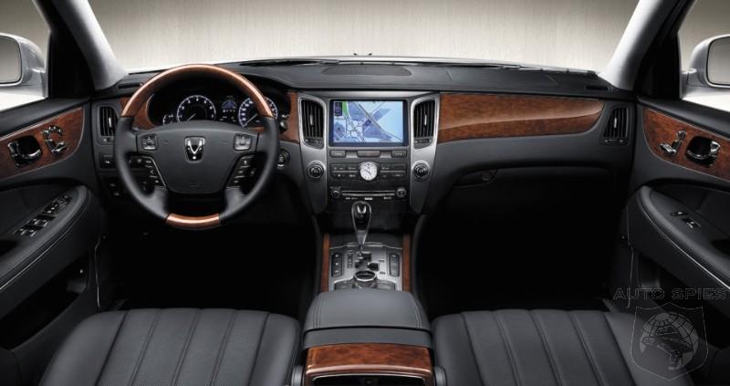 Attractive Hyundai Equus Interior Nice Ideas