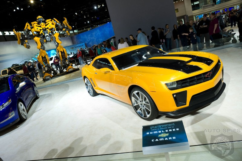 Chevy To Launch Por Limited Edition Blebee Camaro