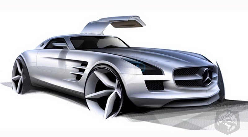 Mercedes Slr Mclaren Amg. Mercedes -Benz SLS AMG