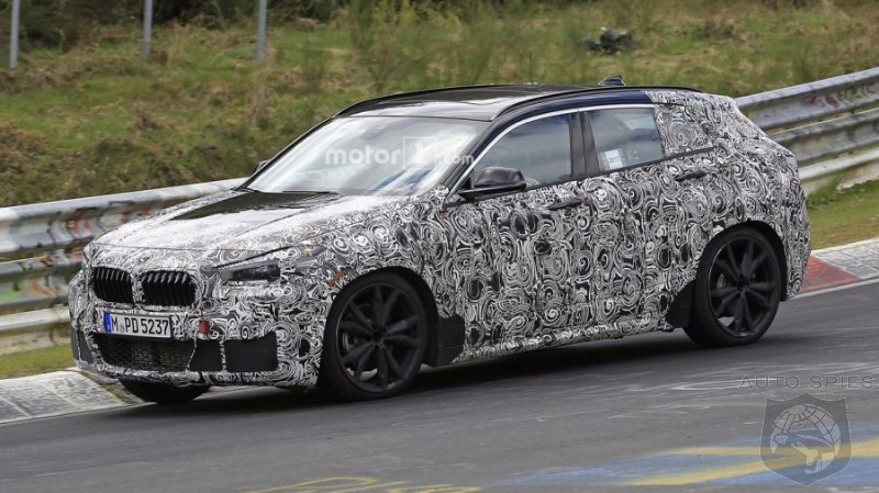 2018 BMW X2 First Spy Photos from Nurburgring!