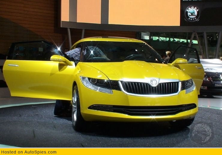 Real Life Images Of The Skoda Joyster Concept Autospies Auto News