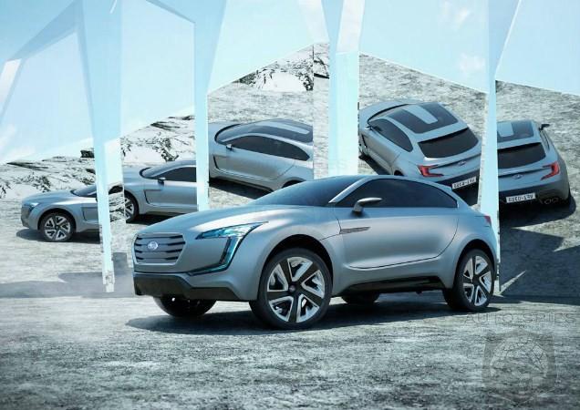 2017 Subaru Tribeca Subaru Viziv Future Concept