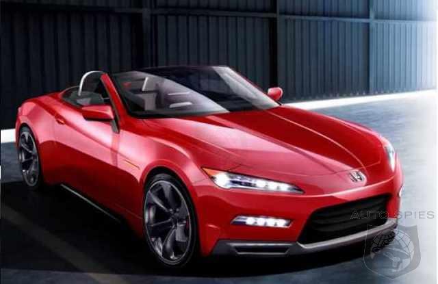 Honda 2017 S2000 >> 2017 Honda S2000 Concept Autospies Auto News