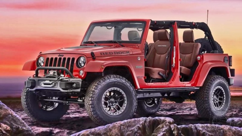 2017 Jeep Wrangler Red Rock Concept