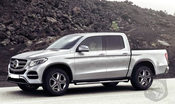 2018 Mercedes Glt Pickup Truck Autospies Auto News