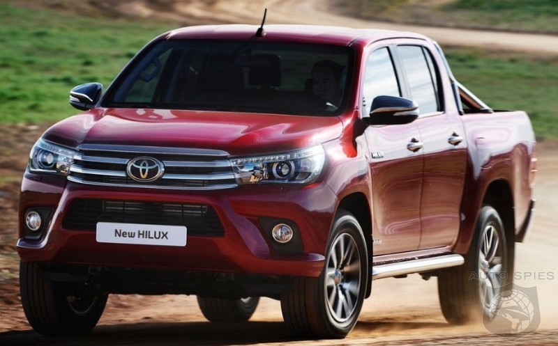 2018 Toyota Hilux Facelift  AutoSpies Auto News