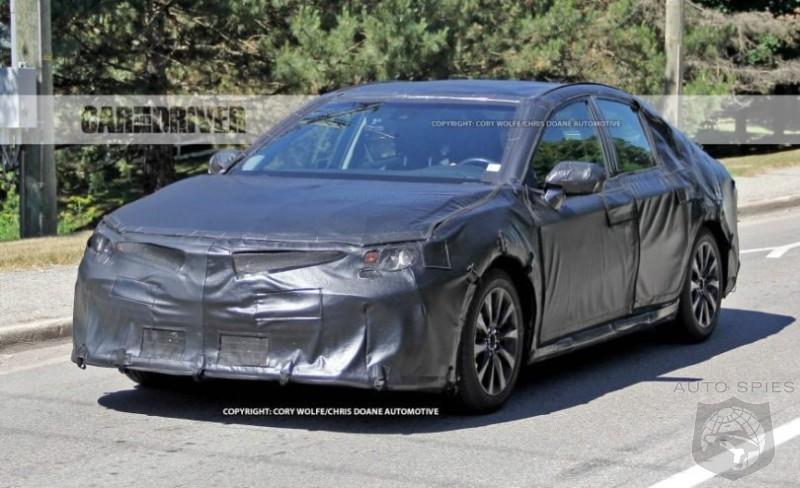 2018 Toyota Camry Spy Photos and Info - AutoSpies Auto News