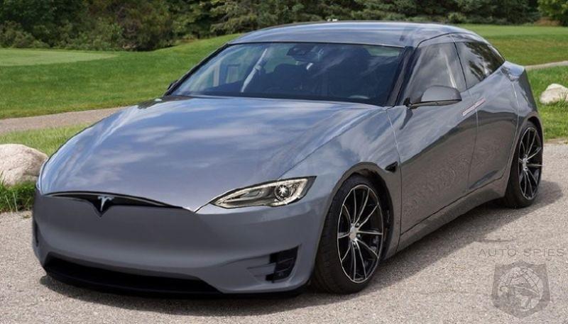 Tesla 2019 >> 2019 Tesla Model 3 Hatchback Autospies Auto News