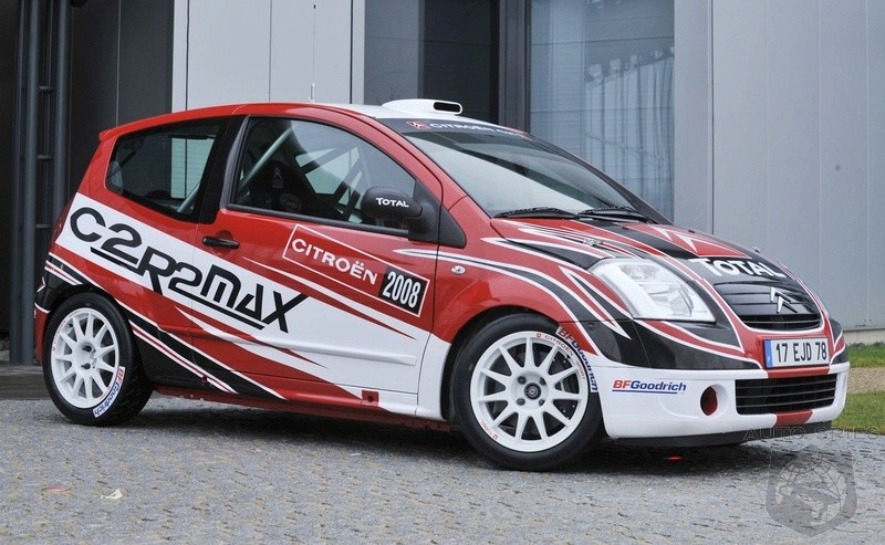 2008 Citroen C2 R2 MAX Rally Car