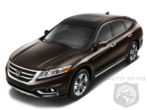 2013 Honda Crosstour with more rugged looks