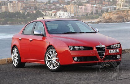 Arrivederci 159. Alfa's iconic sports sedan winding up production!
