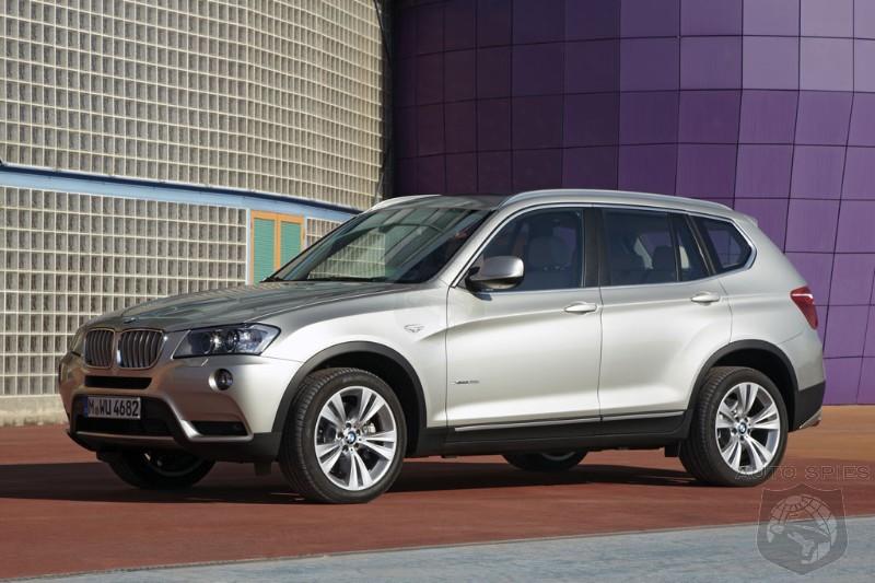 2011 BMW X3 Price revealed   AutoSpies Auto News