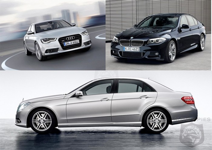 Premium comparison: New Audi A6 vs. BMW 5 Series and Mercedes E Class