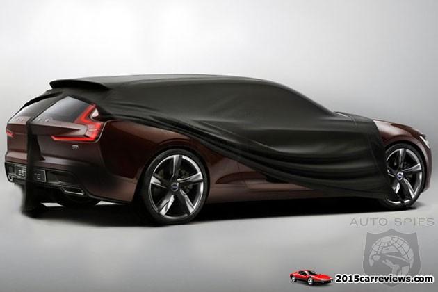 New Volvo Concept Estate Going To The 2014 Geneva Motor Show