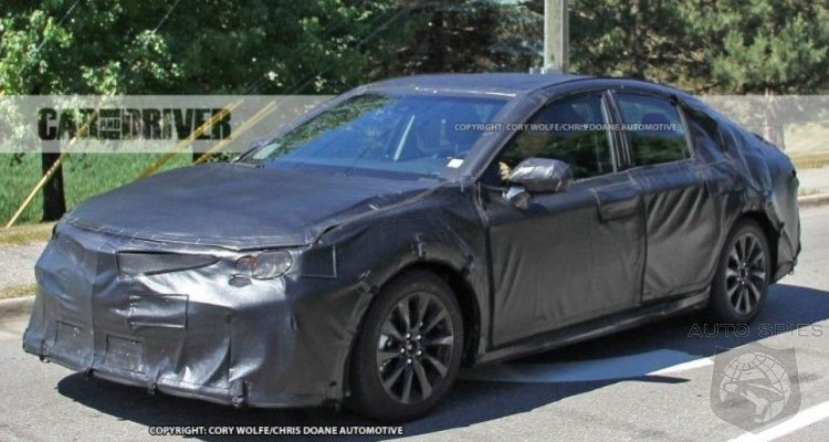 2018 Toyota Camry First Spy Photos