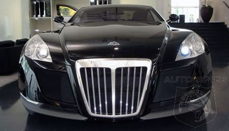 Maybach Exelero Concept for sale for 78 million  AutoSpies Auto