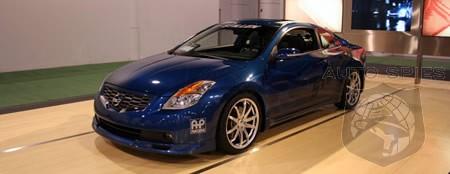 2007 SEMA Show Stillen 2008 Nissan Altima Coupe  AutoSpies Auto News