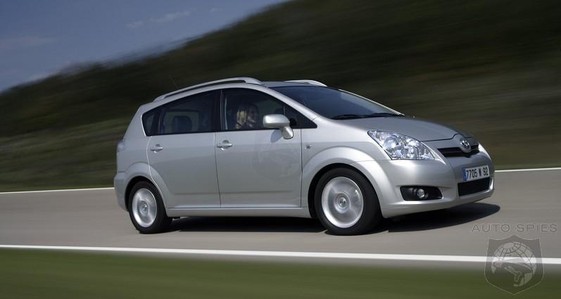 Toyota reveals 2008 Corolla Verso