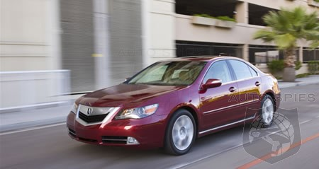 V8 option for Acura RL delayed until 2015