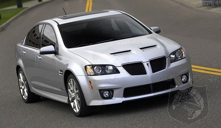 2009 Pontiac G8 Gxp Pricing Announced