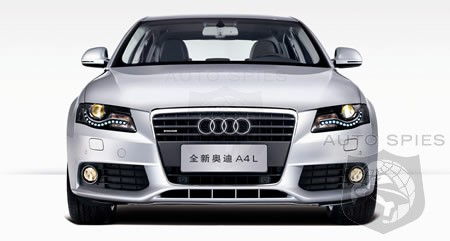 Audi A4l A Long Wheelbase A4 For China Autospies Auto News