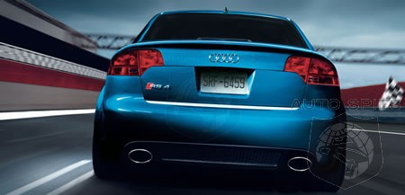 Watch Out Bmw M3 2008 Audi Rs4 To Get 450 Horse