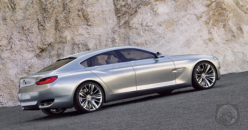 Purves BMW CS Concept To Spawn A Door Sports Sedan AutoSpies - Bmw 4 door sedan