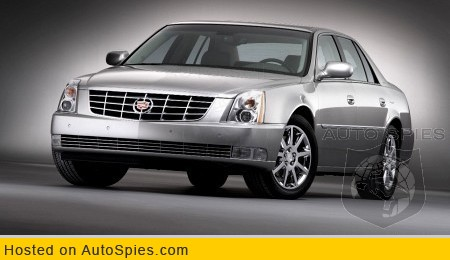 Cadillac To Unveil Stretched Dts Autospies Auto News