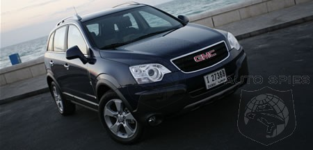 GMC Terrain unveiled: GMC's first compact SUV revealed in Kuwait