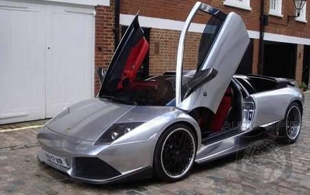 Chrome Colored Hamann Lamborghini Murcielago Lp640 For Sale