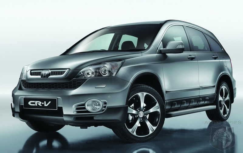 Honda s factory cr v aero performance package autospies for Honda crv packages