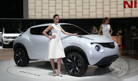 2009 Geneva Motor Show Nissan Qazana Concept Unveiled Autospies