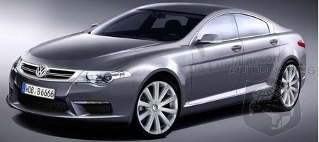 Report Volkswagen Does The Four Door Coupe Thing