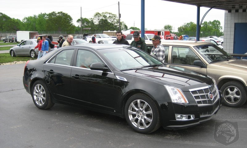Spy Shots 2008 Cadillac Cts Spotted Out In The Open