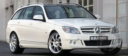 Brabus Offers Tuning Package For 2008 Mercedes C Class Wagon