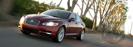 video 2009 jaguar xf supercharged autospies auto news. Black Bedroom Furniture Sets. Home Design Ideas