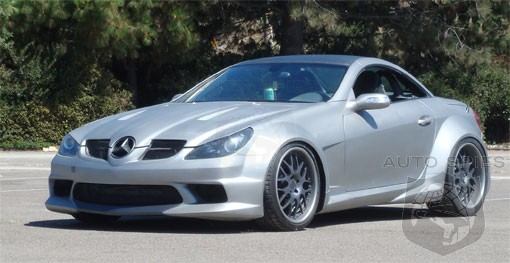 Widebody Slk On Sale In U S Autospies Auto News
