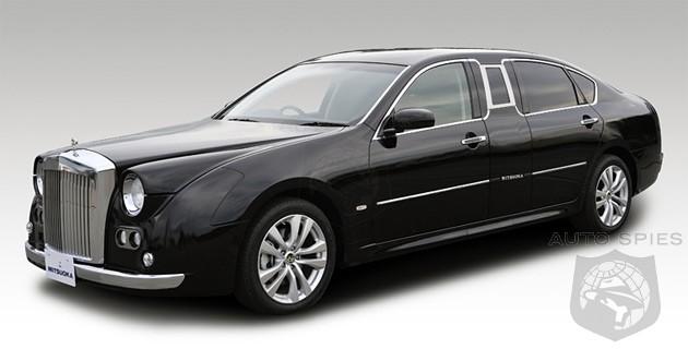 Infiniti M converted into Japanese Rolls Royce wannabe ...