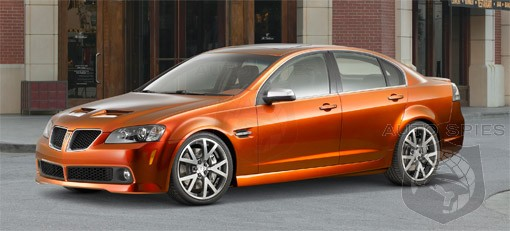 Gm Building New Pontiac G8 Gxp Autospies Auto News