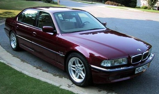 Bmw 730i E32. Which BMW 7-Series did you