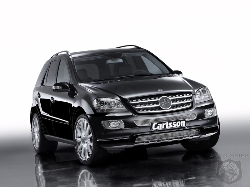 carlsson tuned mercedes benz ml 320 cdi autospies auto news