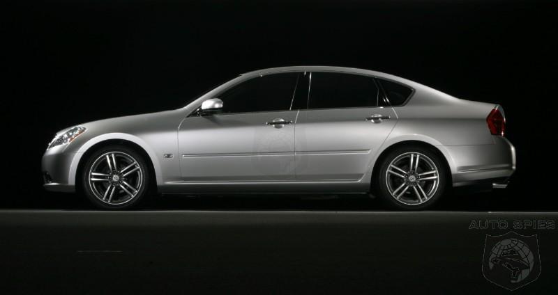 2008 Infiniti M35 & M45 Price Announced US